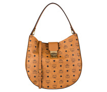 Hobo-Bag PATRICIA VISETOS - cognac