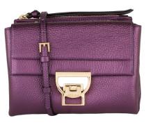 Umhängetasche - violett metallic