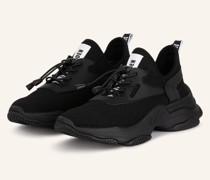 Plateau-Sneaker MATCH - SCHWARZ