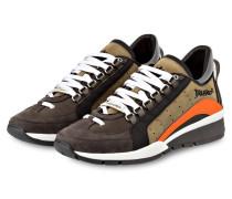 Sneaker 551 - beige/ grau/ orange