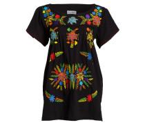 Tunika-Kleid - schwarz