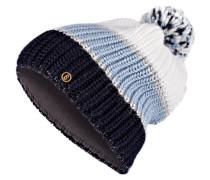 Mütze ARINA - navy/ hellblau/ creme