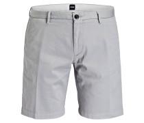 Shorts RICE3-D Slim-Fit - hellgrau