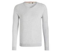 Pullover KIRK - grau meliert