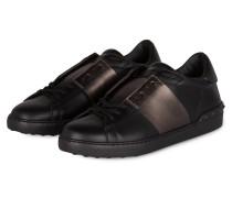 Sneaker - schwarz/ taupe metallic