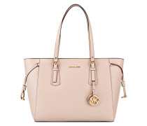 Saffiano-Shopper VOYAGER - soft pink