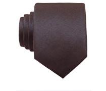 Krawatte - dunkelbraun