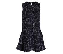 Kleid QULLA - dunkelblau/ weiss