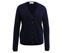 Cashmere-Cardigan - dunkelblau