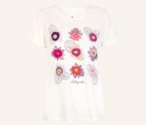 T-Shirt DINAL mit Stickereien