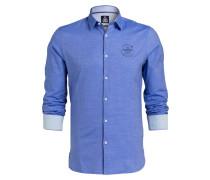 Hemd TIEUWE Regular-Fit - blau