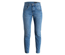 Mom-Jeans THEDA - fluid blue wash