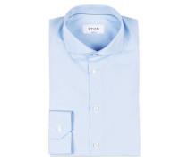 Hemd Super Slim-Fit - blau