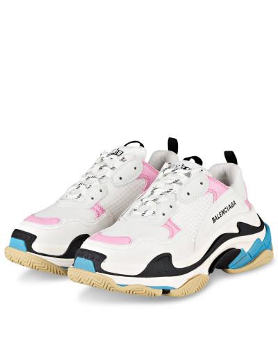 Sneaker TRIPLE S - PINK/ WEISS/ BLAU