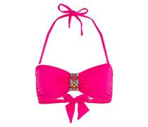 Bandeau-Bikini-Top THERMO NINABELL - pink