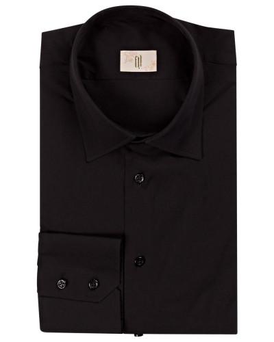 Hemd WALTER Slim-Fit - schwarz