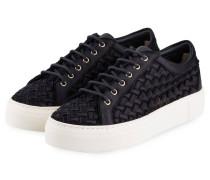 Plateau-Sneaker - nachtblau