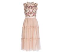 Kleid BEATRIX - nude/ rosa