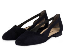Cut-out-Ballerinas - navy