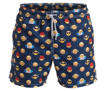 Badeshorts GUSTAVIA EMOTICON - navy