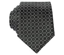Krawatte - oliv/ grau