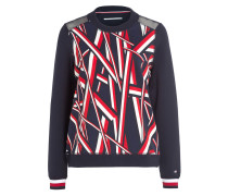 Sweatshirt ATH EDITH - marine/ weiss/ rot