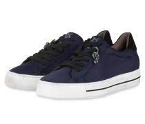 Plateau-Sneaker - DUNKELBLAU