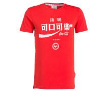T-Shirt TAIWAN COKE - rot/ weiss