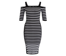 Kleid RUTH - schwarz/ weiss