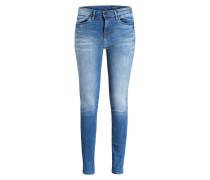 Skinny-Jeans - blau