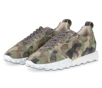 Sneaker BOX - OLIV