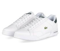 Sneaker TWIN SERVE - WEISS/ DUNKELGRÜN