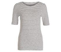 T-Shirt - ecru/ navy gestreift