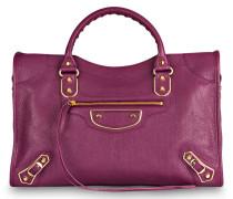 Handtasche METALLIC EDGE CITY M - violet