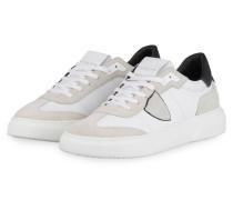 Sneaker TEMPLE - WEISS/ GRAU/ SCHWARZ