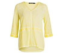 Blusenshirt - gelb