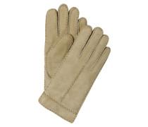 Lederhandschuhe - beige