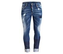 Destroyed-Jeans SKATER Tapered-Fit
