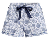 Lounge-Shorts - blau