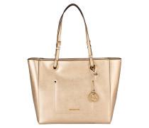 Saffiano-Shopper WALSH - pale gold