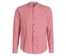 Trachtenhemd LASSE - rot/ weiss