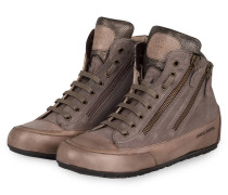 Hightop-Sneaker LUCIA ZIP - taupe/ graphit