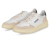 Sneaker - WEISS/ BEIGE/ DUNKELBLAU