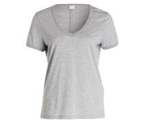 T-Shirt TYVECK - hellgrau meliert