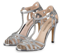 Sandaletten - silber