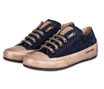 Sneaker ROCK - dunkelblau/ braun