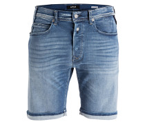 Jeans-Shorts - 009 mid blue