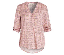 Bluse mit 3/4-Arm - rot