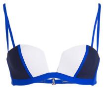 Bügel-Bikini-Top - blau