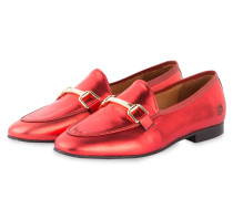 Loafer JACKY - rot metallic